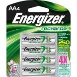 Pilas Energizer AA recargable c/4